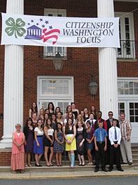 Photo: Citizenship Washington Focus participants.